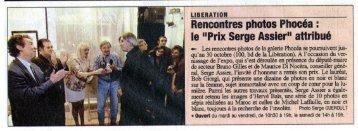Remise de prix - Serge Assier