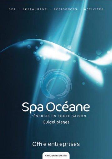 Cliquez ici pour télécharger la plaquette - Spa Océane