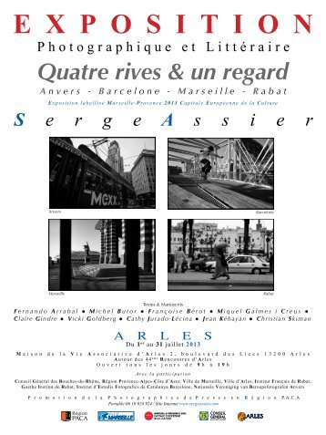 Quatre rives & un regard - Serge Assier
