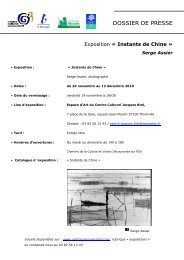 Dossier de presse Thionville - Serge Assier