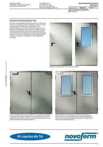 novoferm riexinger t renwerke gmbh. Black Bedroom Furniture Sets. Home Design Ideas