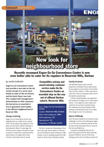 New look for neighbourhood store - Supermarket.co.za