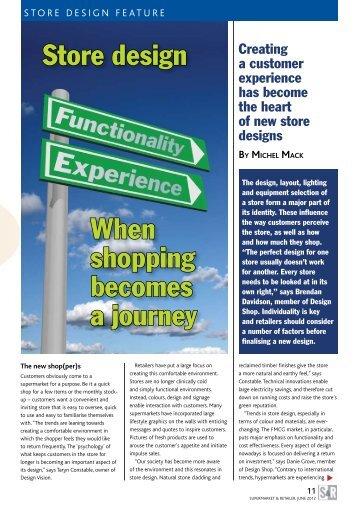 Store design When shopping becomes a journey - Supermarket.co.za