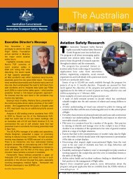 Flight Safety Australia magazine - Nov-Dec issue ATSB