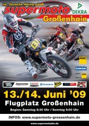 IDSM09 Flyer GROSENHAIN A5 I Kopie:Layout 1 - Supermoto.de