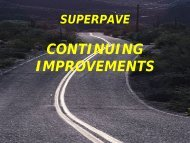 Superpave - Continuing Improvements - Angelo