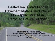 Heated Reclaimed Asphalt Pavement Material and Warm ... - neaupg