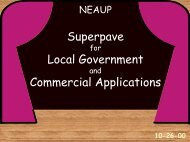 Superpave Local Government Commercial Applications