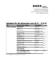 Arthaus Spielplan extern ab 29.11