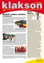 Solarki i jedno conieco - Veolia Transport