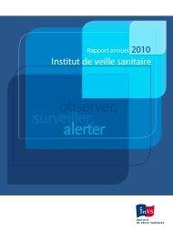 Rapport - Institut de veille sanitaire