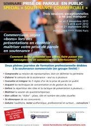 Téléchargez le programme - Paris