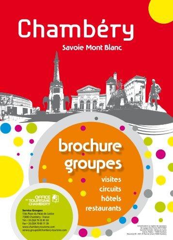 Nouvelle brochure pour groupes - Foxoo