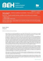 Bulletin épidémiologique hebdomadaire - Foxoo