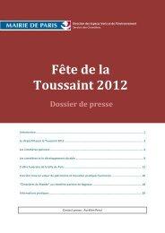 Fête de la Toussaint 2012 - Paris