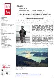 LE JAPONISME DE JEAN–FRANCIS AUBURTIN - Foxoo