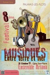 Plus de détails sur le festival Musiques entre Terre et Mer - Herault