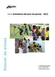 Téléchargez le dossier été 2013 des jeunes à ... - Loire-Atlantique