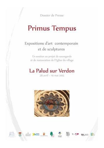 de détails sur l exposition Primus Tempus - Alpes-de-Haute-Provence