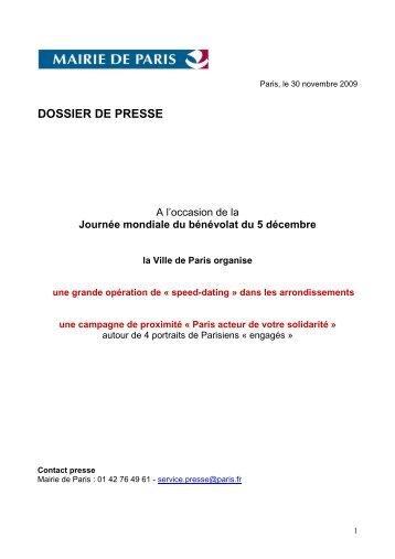 Téléchargez le dossier de presse Journée Mondiale ... - Foxoo Paris