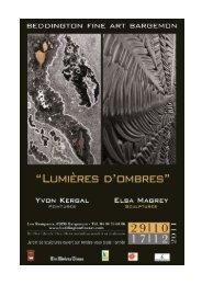 Plus de détails sur l'exposition : Lumières D'ombres - Var