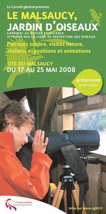 LE MALSAUCY, JARDIN D'OISEAUX - Territoire de Belfort