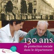 de protection sociale dans le département - Conseil général