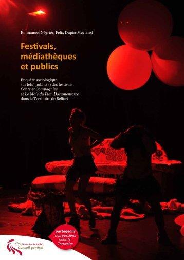 Festivals, médiathèques et publics - Territoire de Belfort