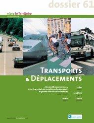 Dossier Transports et déplacements - Territoire de Belfort