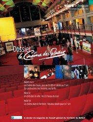 Dossier Le cinéma des Quais - Conseil général