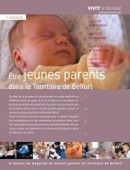 Dossier Etre jeunes parents - Territoire de Belfort