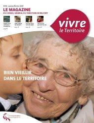 Magazine n° 82 janvier février 2007 - Territoire de Belfort