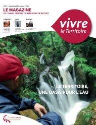 Magazine n° 81 novembre décembre 2006 - Territoire de Belfort