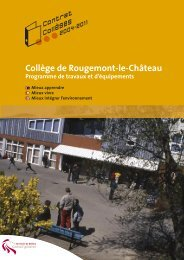 Collège de Rougemont-le-Château - Territoire de Belfort