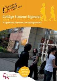 Collège Simone Signoret - Territoire de Belfort