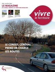 Magazine n° 83 mars avril 2007 - Territoire de Belfort