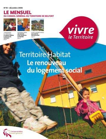 Le dossier Territoire Habitat - Territoire de Belfort