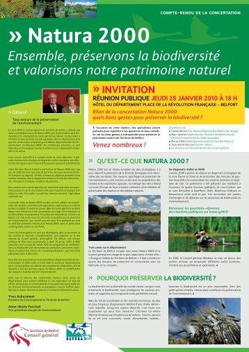 document du bilan de concertation (janvier 2010). - Territoire de ...