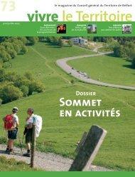 Magazine n° 73 juin - juillet - Territoire de Belfort