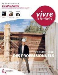Magazine n° 76 décembre 2005 - janvier 2006 - Territoire de Belfort