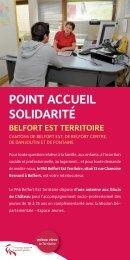 BELFORT EST TERRITOIRE cantons de Belfort est, de Belfort centre ...