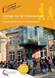Collège rue de Châteaudun - Territoire de Belfort