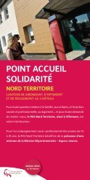 NORD TERRITOIRE Cantons de Giromagny, d'Offemont et de ...