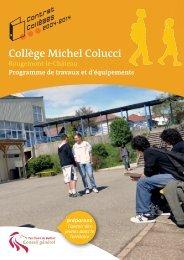 Collège Michel Colucci - Territoire de Belfort