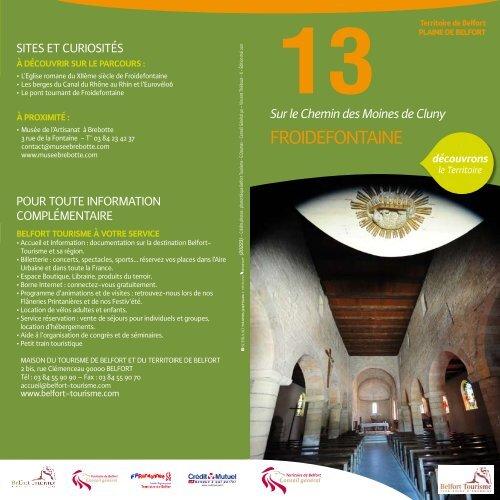 13. Sur le chemin des moines de Cluny (Froidefontaine)