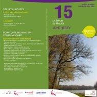 15. le Sentier du Verchat ( Joncherey) - Territoire de Belfort