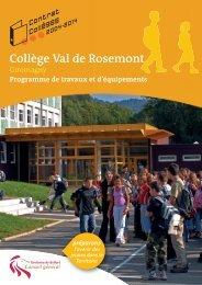 Collège Val de Rosemont - Territoire de Belfort