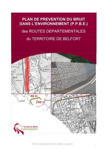 PPBE - Territoire de Belfort