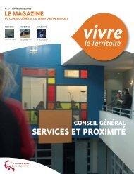Magazine n° 77 février-mars 2006 - Territoire de Belfort