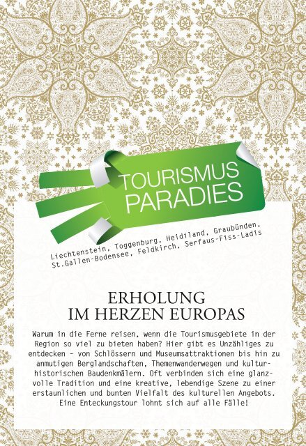 Tourismus - Mein Guide
